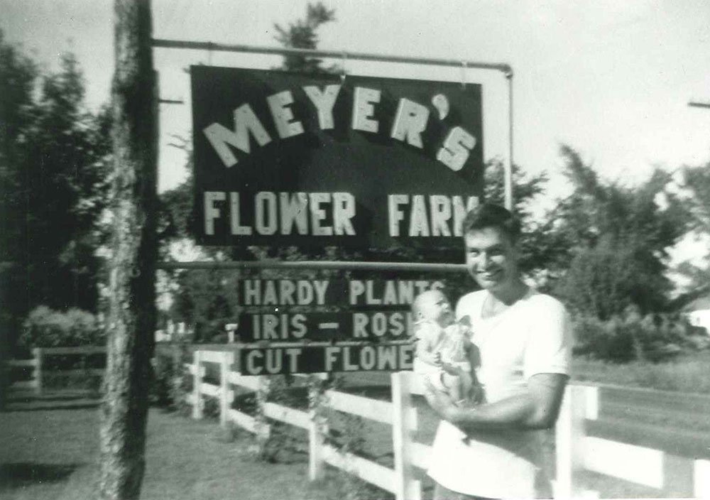 1952 Ed Meyer with Jack
