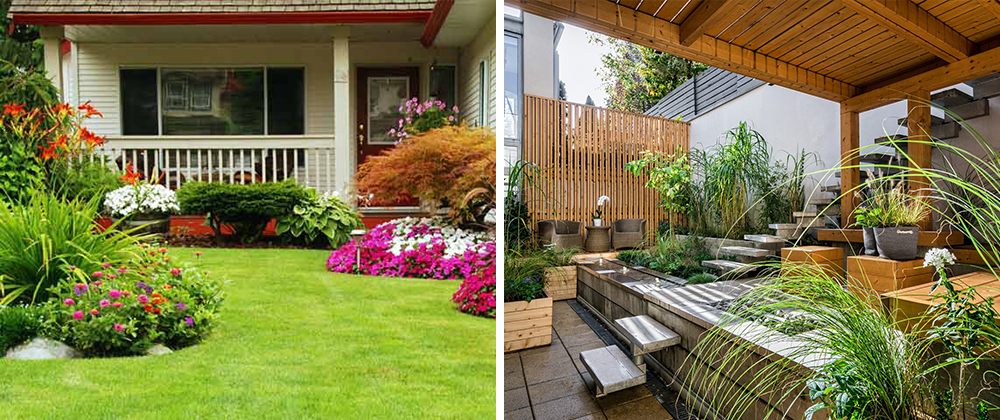 landscaping adds value to your home