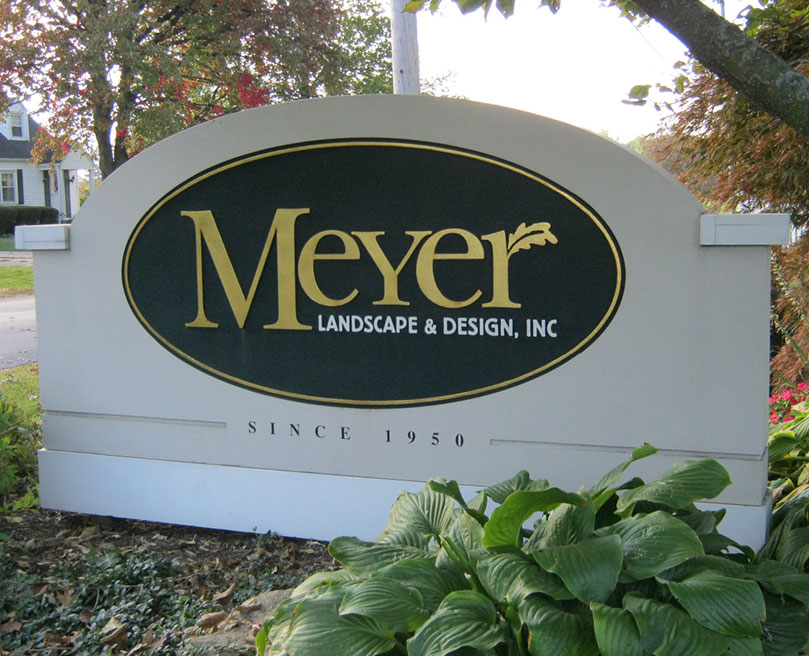 Meyer Landscape sign