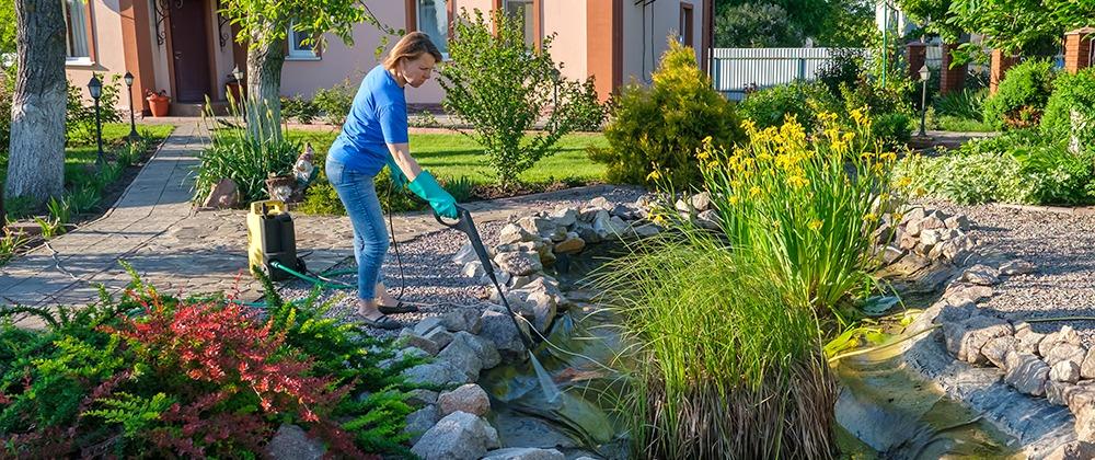 Water Feature Maintenance Spring Checklist photo