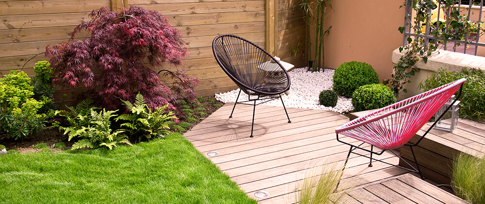 meyer landscape 2021 outdoor living trends seating patio maple shrub