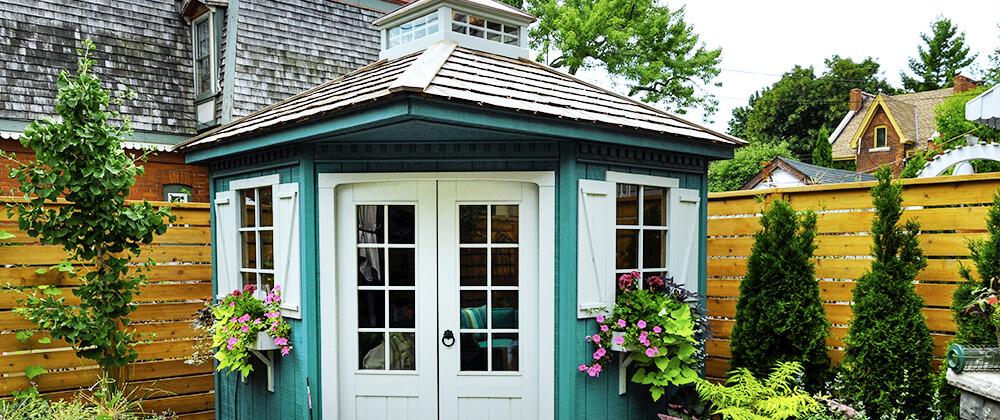 meyer landscape 2021 outdoor living turquoise garden shed