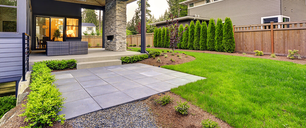 meyer landscape backyard features to add value modern patio home