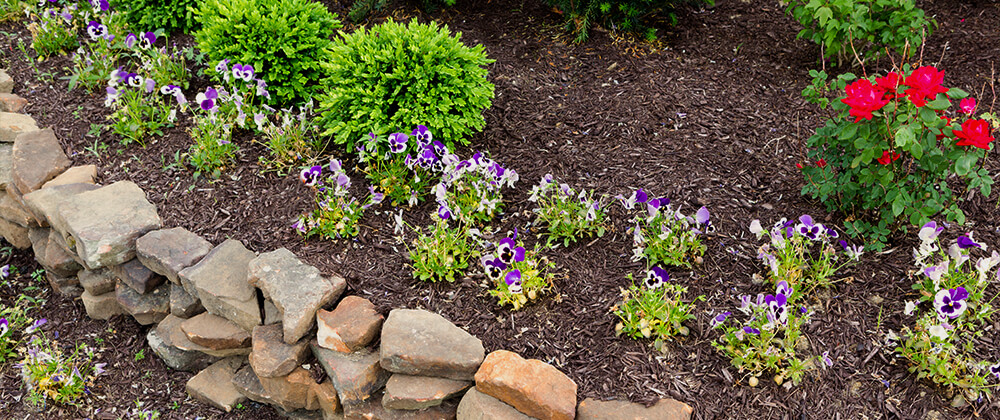 meyer landscape backyard features to add value retaining wall flower bed