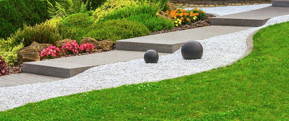 meyer landscape design front yard curb appeal stepped walkway hardscape