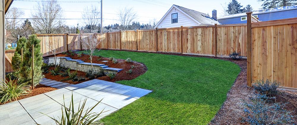 meyer landscape landscape renovation sloped back yard landscaping